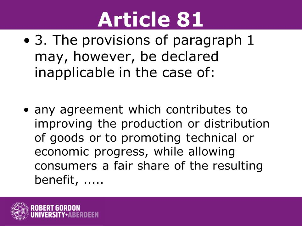 Article 81 + 2. Any agreements or decisions prohibited pursuant to this Article shall be automatically void.