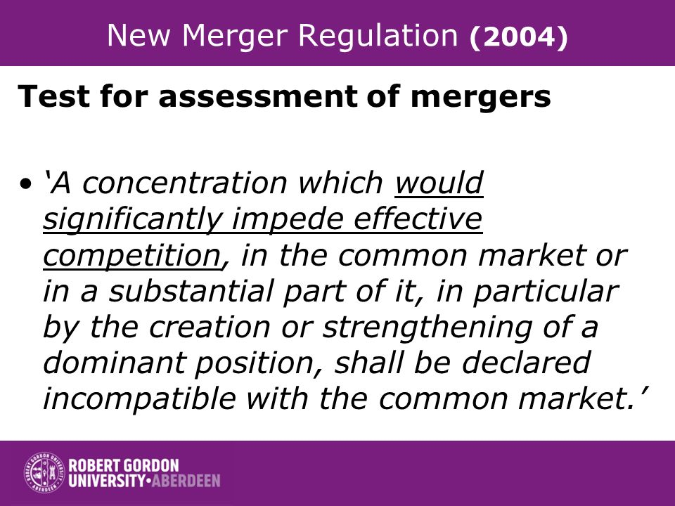 Community dimension (b) the aggregate Community- wide turnover of each of at least two of the undertakings concerned is more than Euro 250 million.