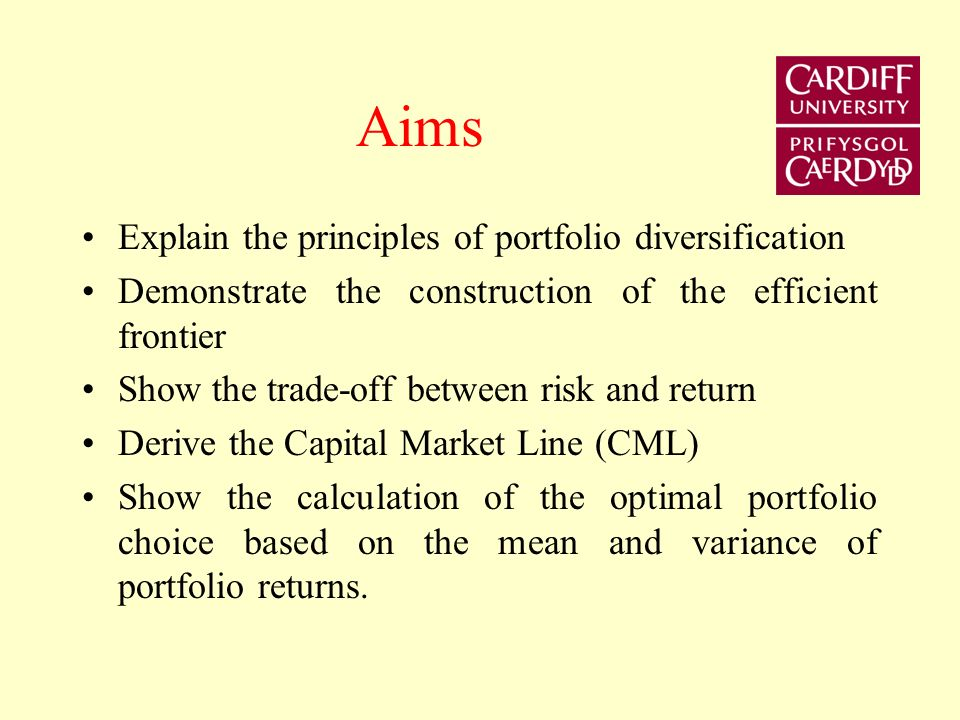 Money, Banking & Finance Lecture 3 Risk, Return and Portfolio Theory