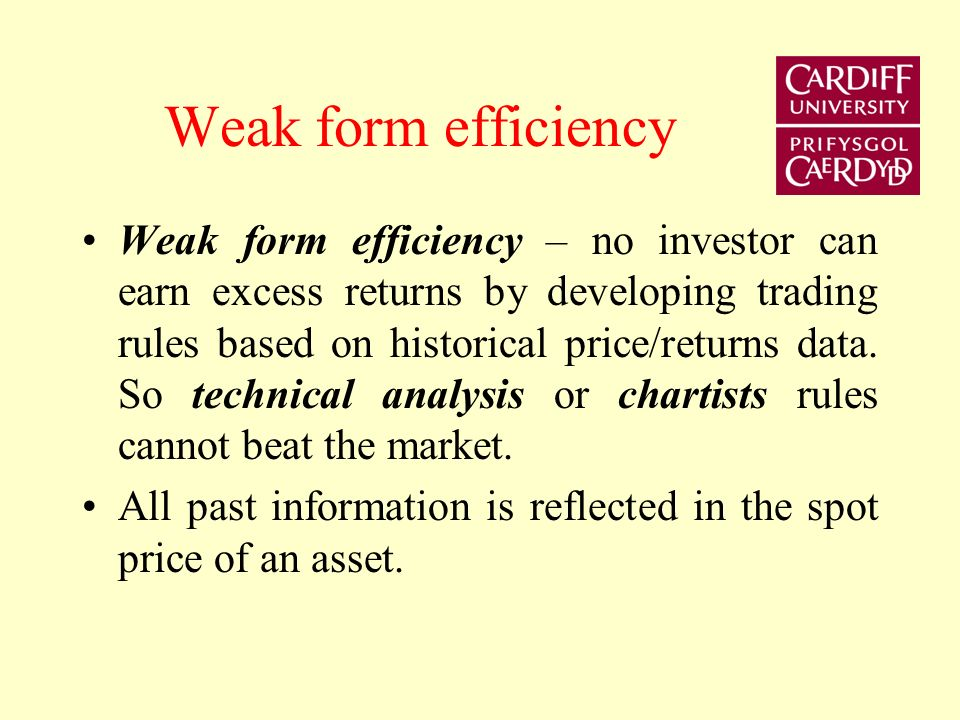 Efficient Markets Hypothesis Expectations are unobserved and we need expectations of future stock price to calculate expected return. The theory of ra