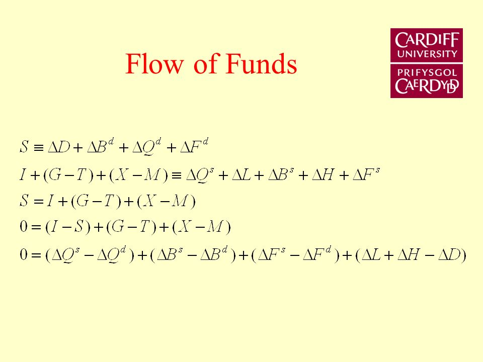 Converting stocks into flows Let X t be the stock at a point in time t