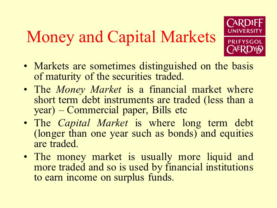 Primary and Secondary Markets Primary market is the market for new issues of securities, or initial public offerings (IPOs) Secondary market is where existing securities are traded (NYSE, NASDAQ, LSE, etc) Some IPOs are well known and advertised and attract a lot of attention but many are of unknown enterprises and are underwritten by a known investment bank.