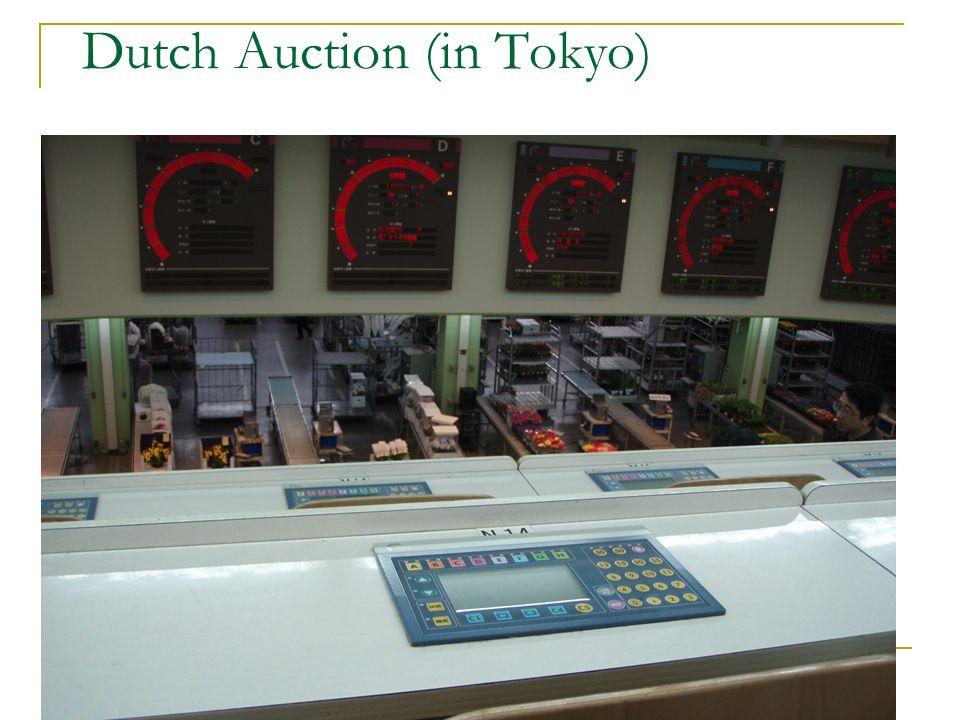 Dutch Auction (in Tokyo)