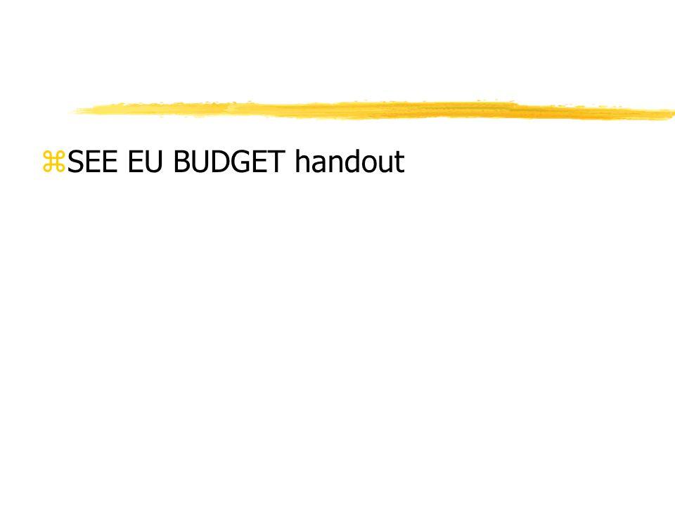 zSEE EU BUDGET handout