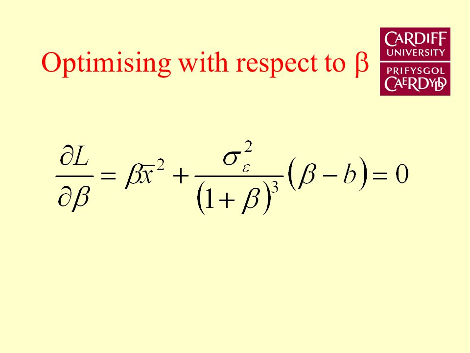 Substitute CB preference result into societies loss function