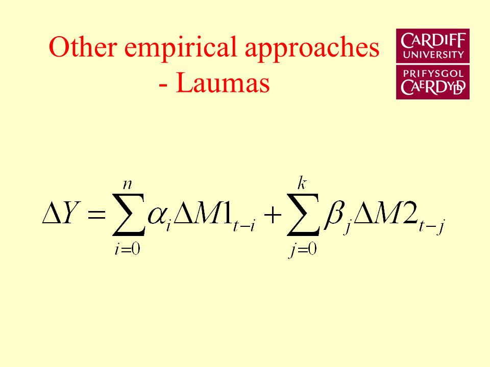 Other empirical approaches - Laumas