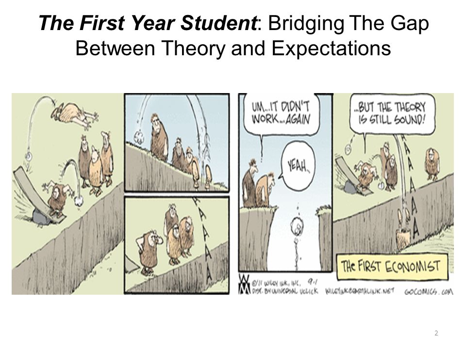 2 The First Year Student: Bridging The Gap Between Theory and Expectations