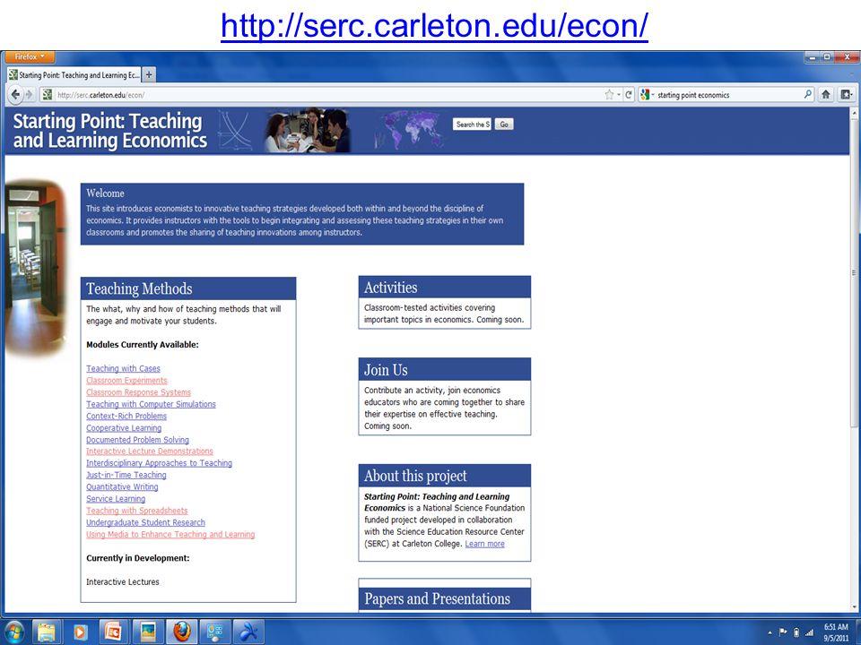 http://serc.carleton.edu/econ/