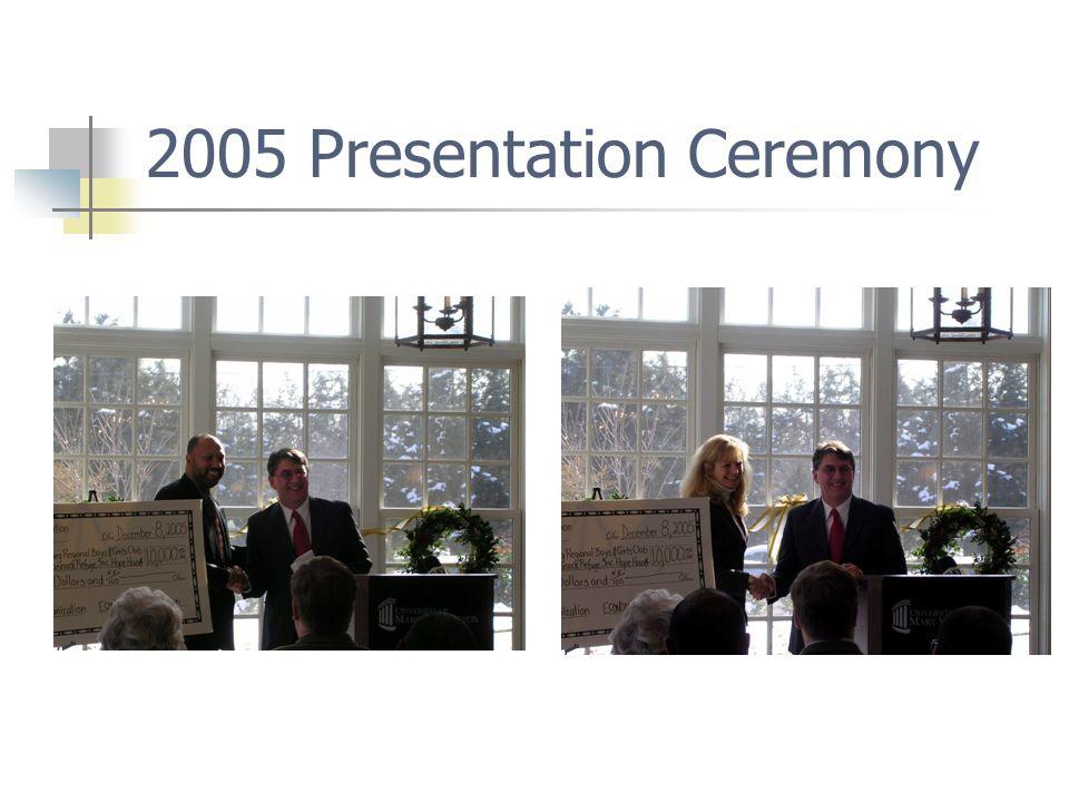 2005 Presentation Ceremony