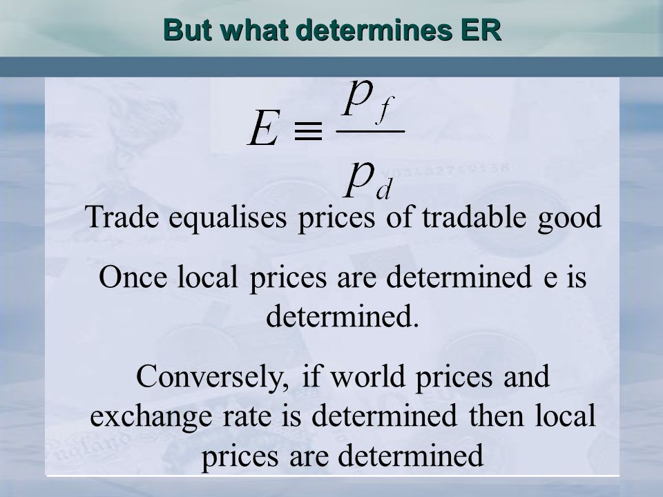 What determines Prices Some people argue that prices are determined by money supply P.Y= MV GNP=must be paid for GNP= Money by the time it changes hands Some people argue that prices are determined by money supply P.Y= MV GNP=must be paid for GNP= Money by the time it changes hands