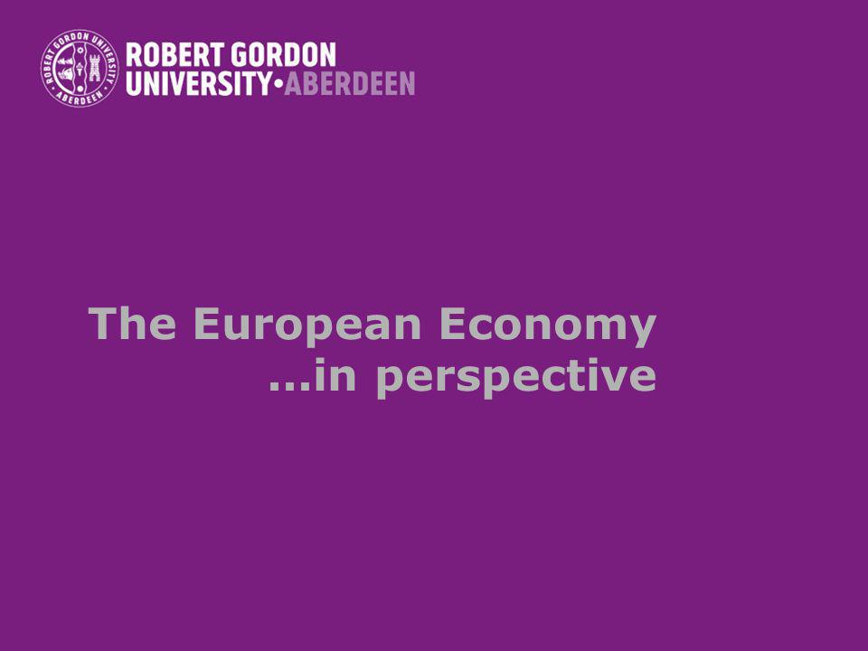 The European Economy...in perspective