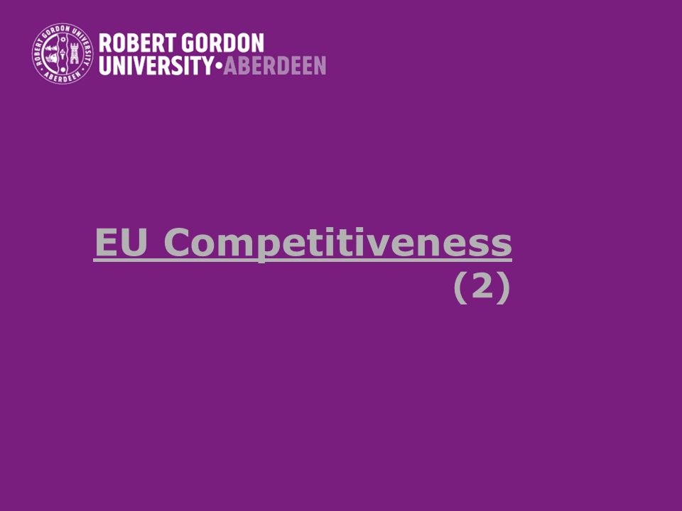 EU Competitiveness (2)