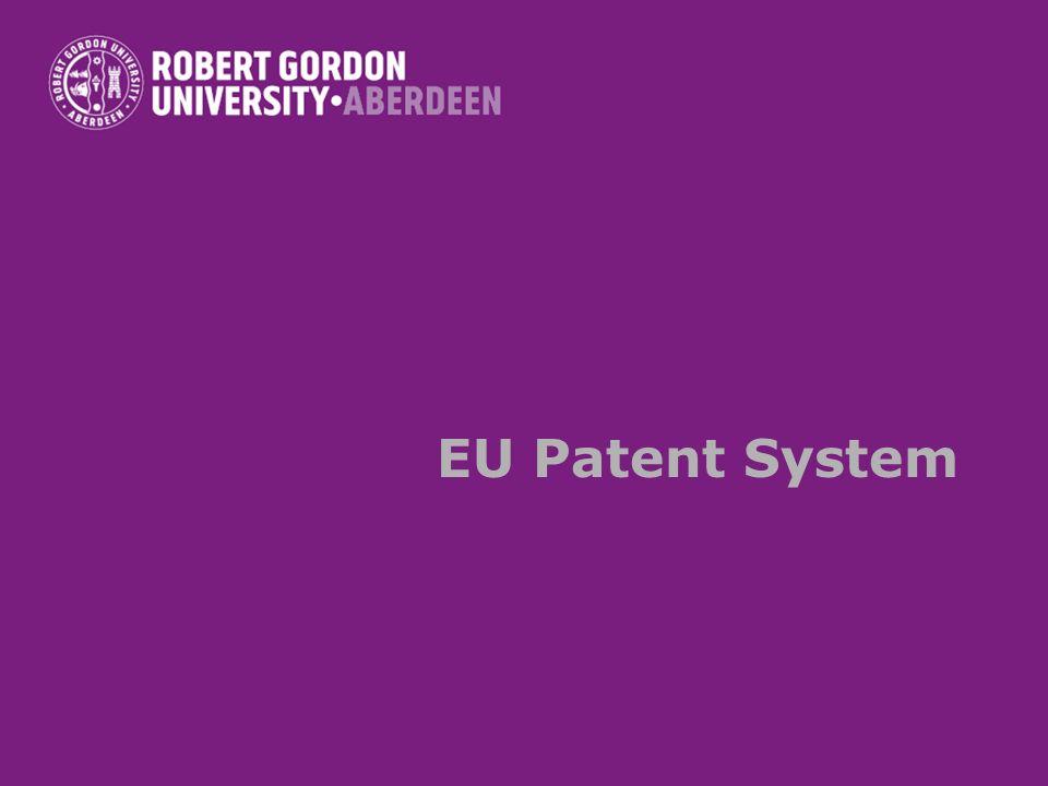 EU Patent System
