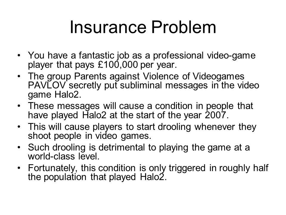 Insurance Problem 2.