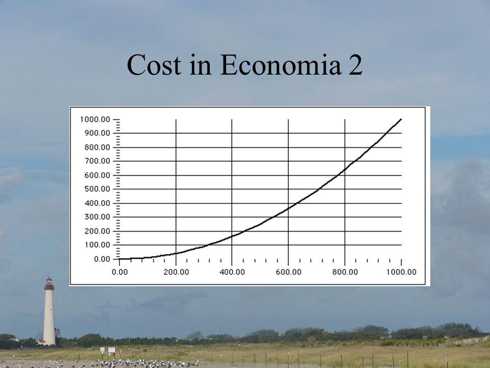Cost in Economia 2