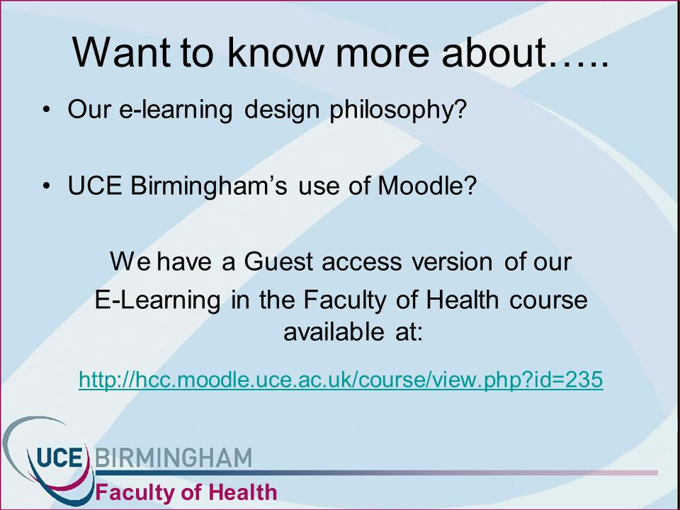 Want to know more about….. Our e-learning design philosophy.