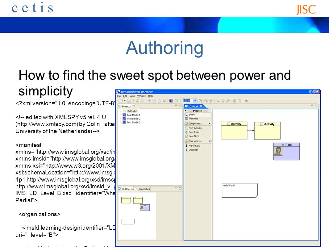 ceti s Authoring How to find the sweet spot between power and simplicity Interactive Brainwriting