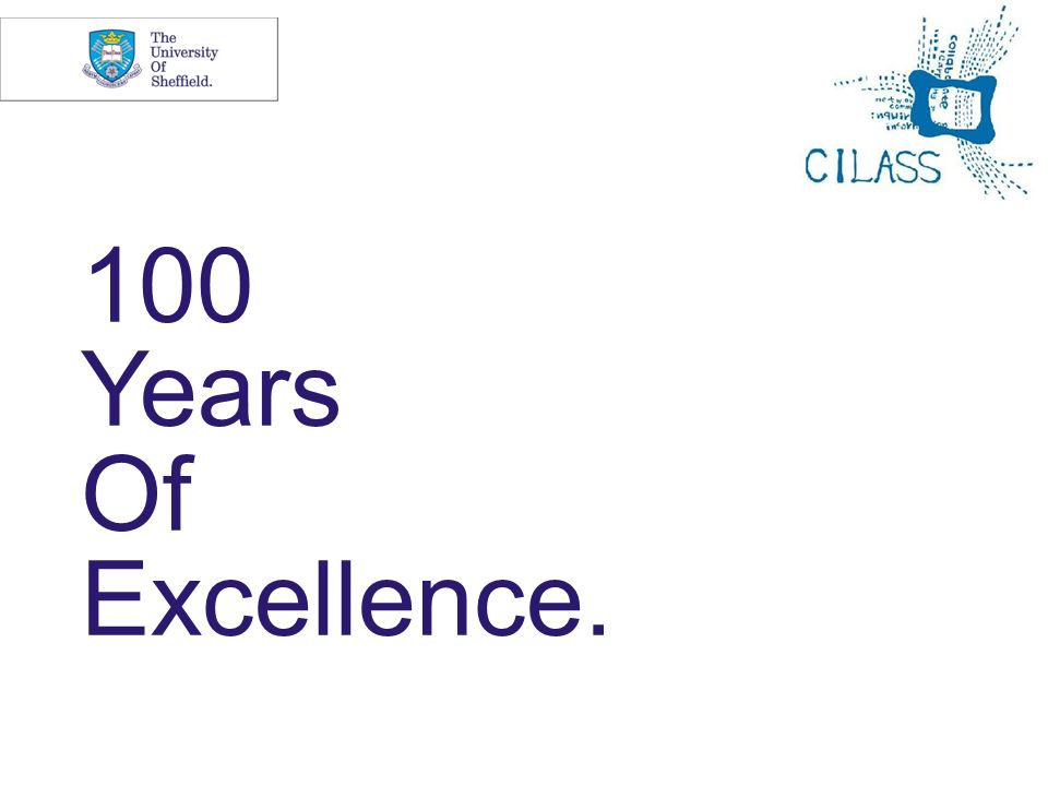 100 Years Of Excellence.