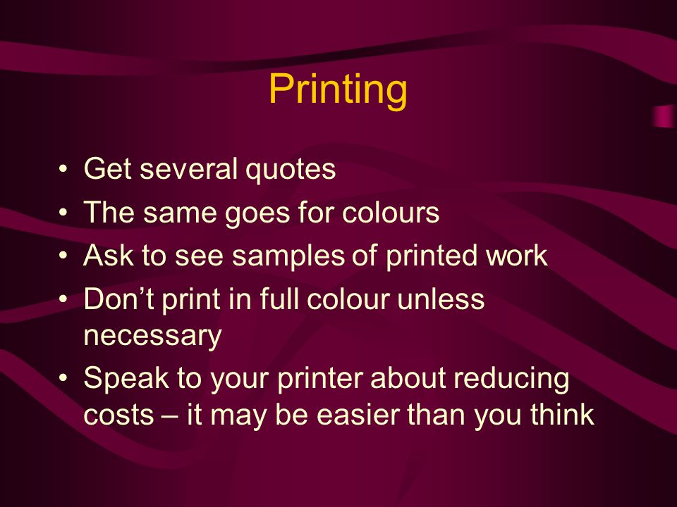 Desktop Publishing Can make the job easier or harder Dont waste time with it if you arent competent