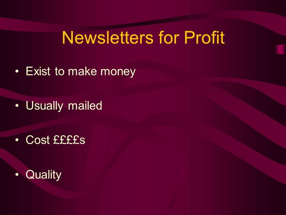 Internal Relations Newsletters E.g.