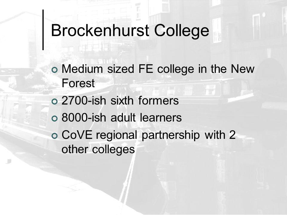 Project Name? Brockenhurst Registration & Attendance Toolkit? BRAT?