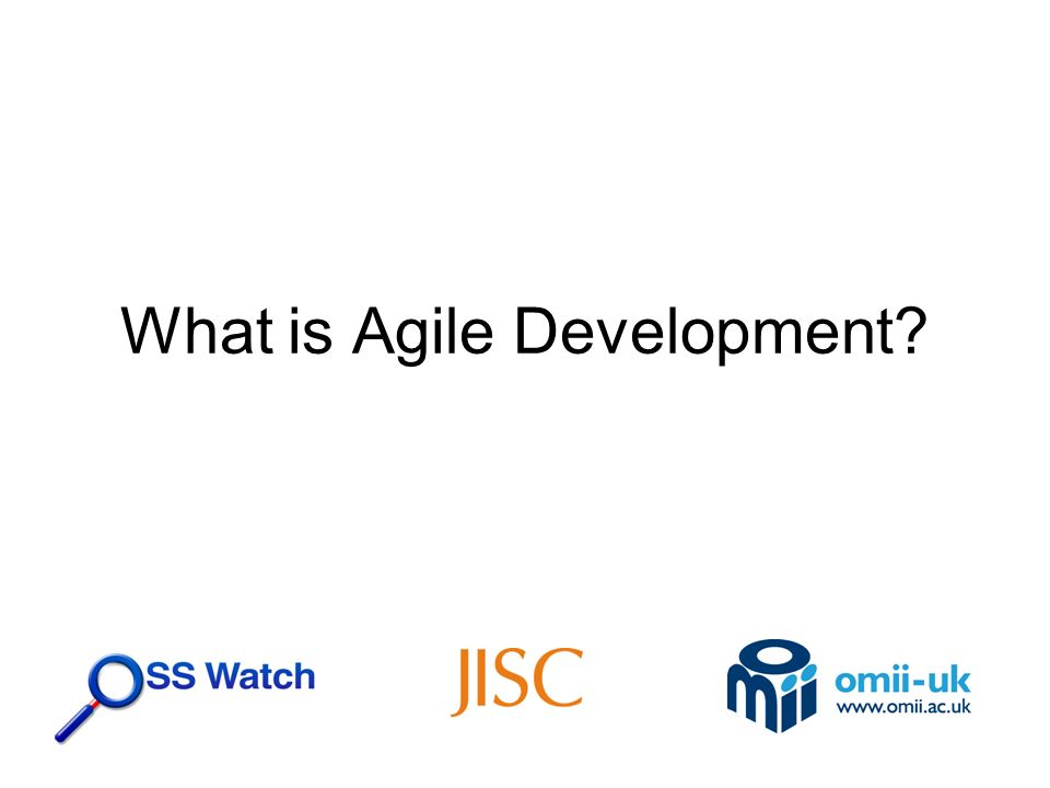Key points Why did Agile Development develop.What does it mean to be Agile.