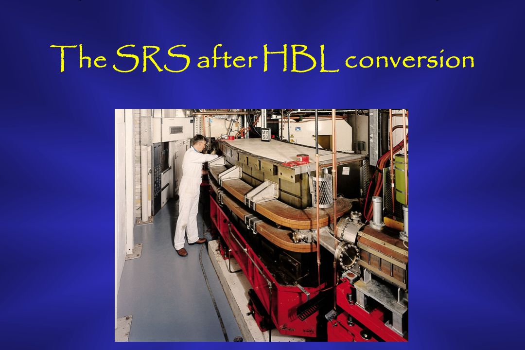 The SRS after HBL conversion