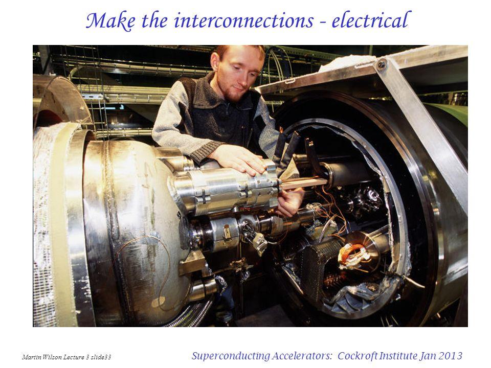 Martin Wilson Lecture 3 slide32 Superconducting Accelerators: Cockroft Institute Jan 2013