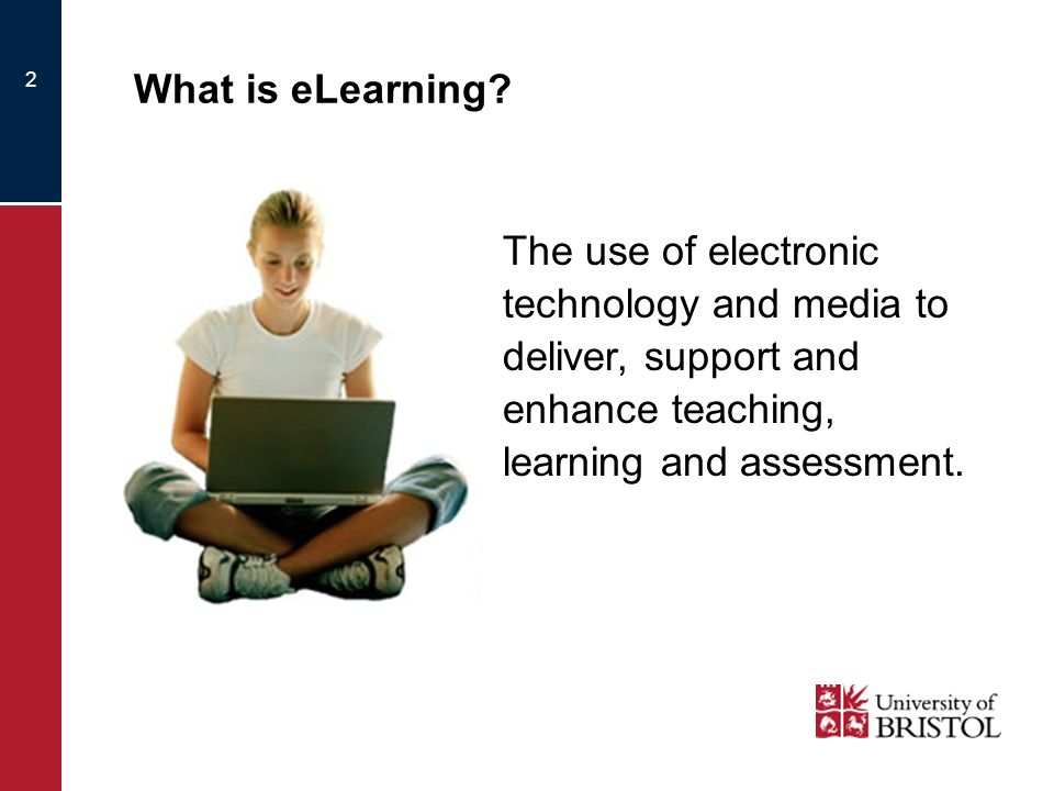 2 What is eLearning.