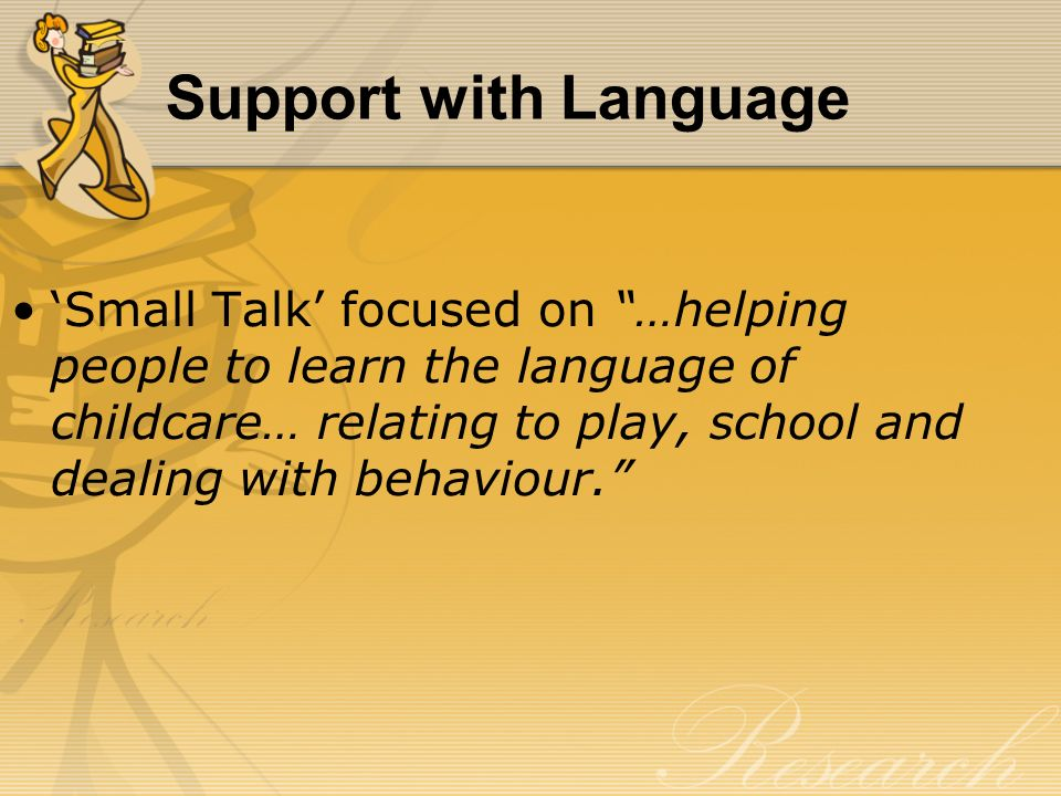 Conclusion EYDCP and BSLSC working in partnership with local colleges/training providers and local communities.