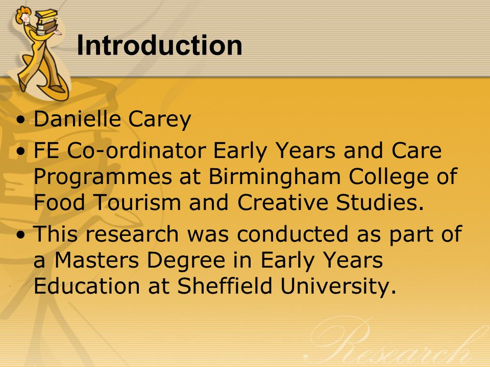 Improving Ethnic Recruitment to Birminghams childcare workforce.