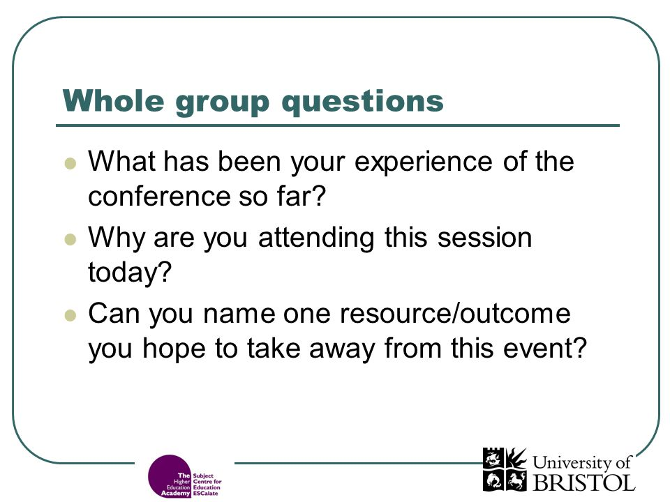 Responses to questions How did you feel: a) being asked the questions.