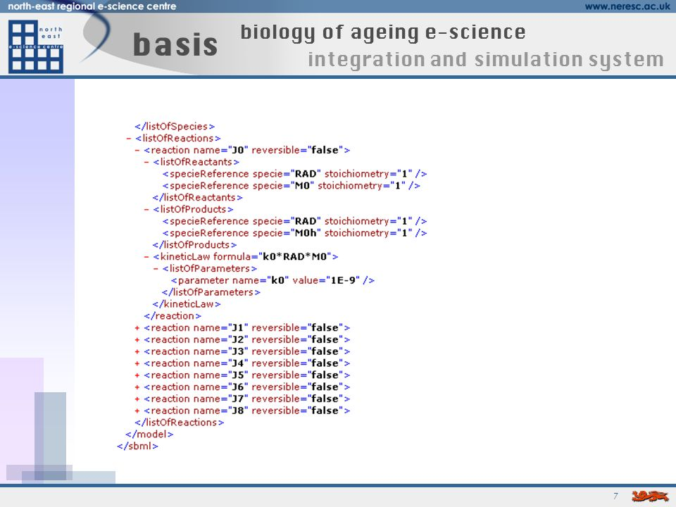 7 basis biology of ageing e-science integration and simulation system