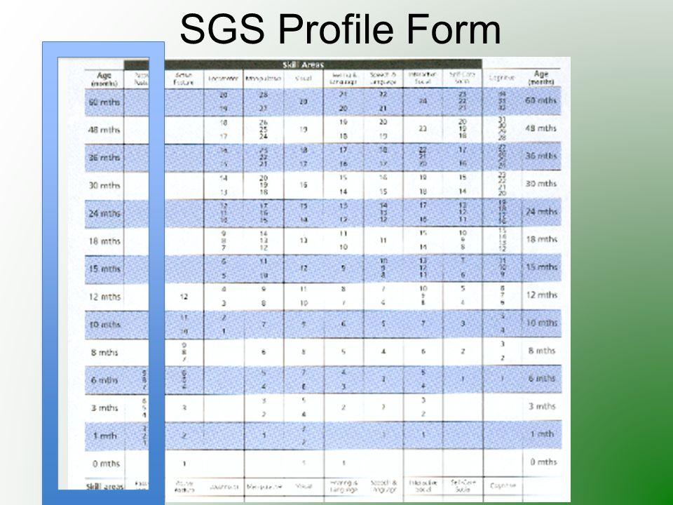 SGS Profile Form
