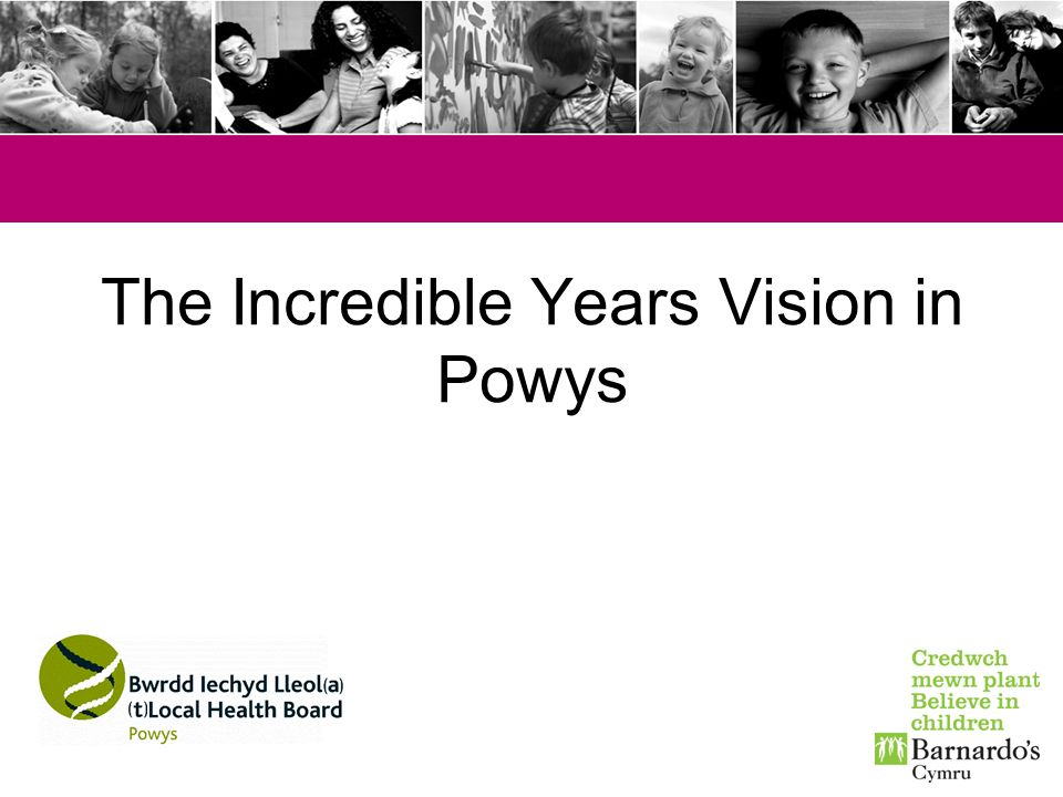 The Incredible Years Vision in Powys
