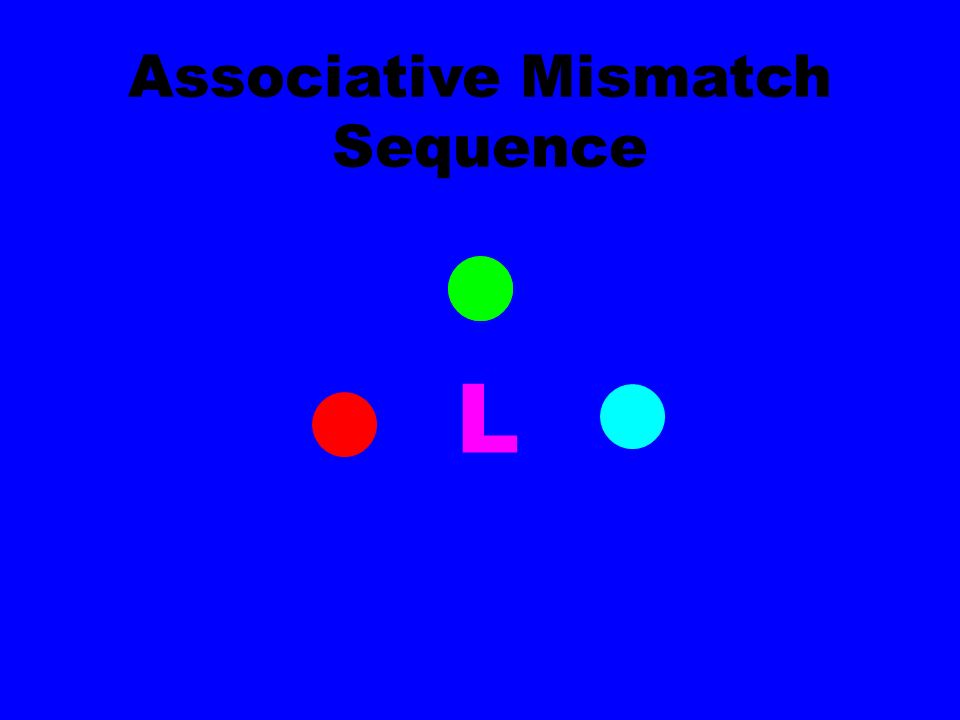 + L Associative Mismatch Sequence