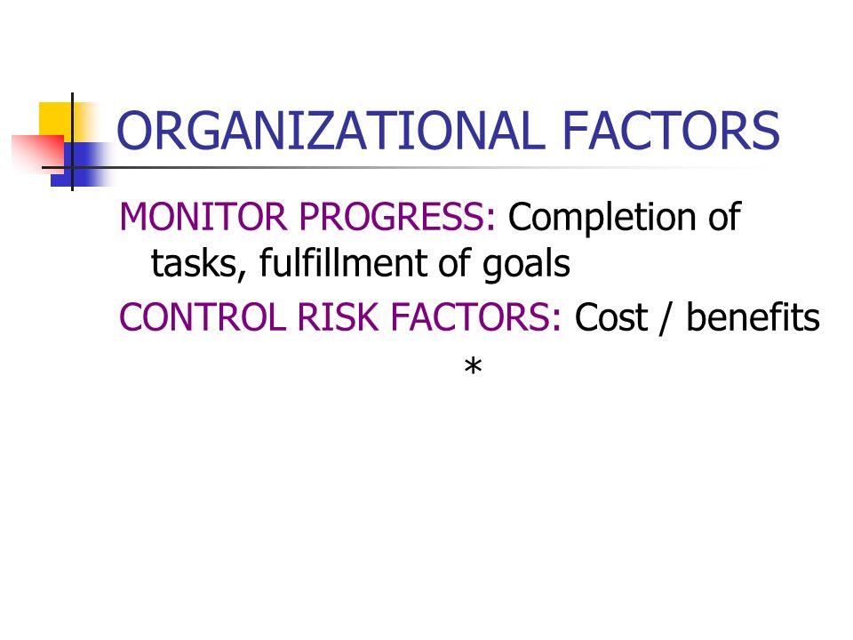 ORGANIZATIONAL FACTORS EMPLOYEE GRIEVANCE RESOLUTION PROCEDURES HEALTH & SAFETY GOVERNMENT REGULATORY COMPLIANCE *