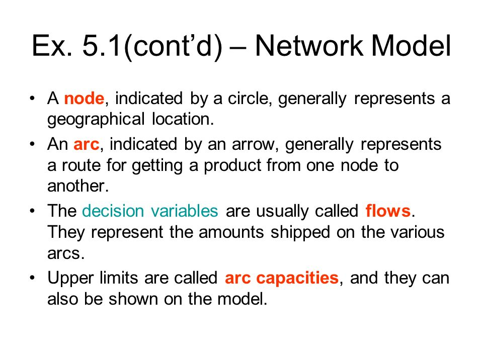 Ex.5. 6 (contd) – Developing the Model 5.Salvage values.