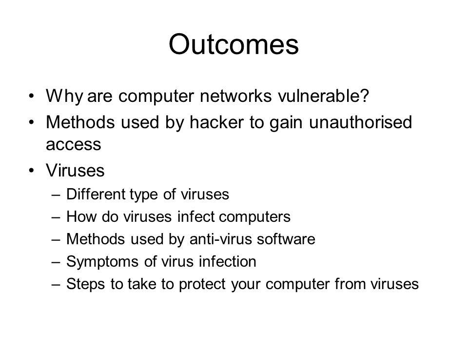Macro Viruses Macro virus: –Encoded as macro and embedded in a document.