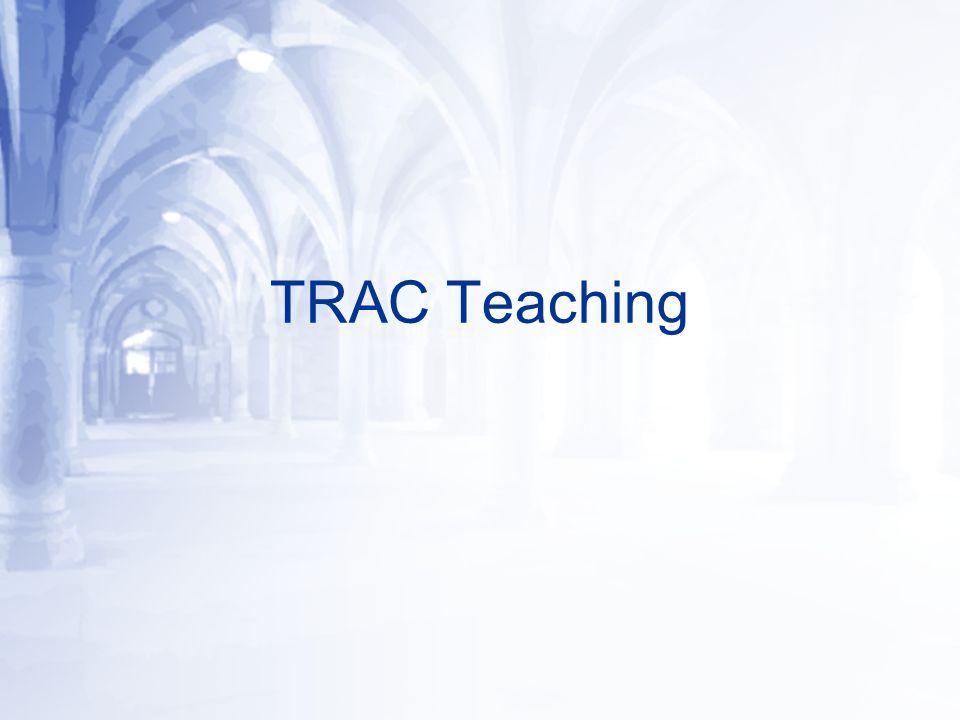 TRAC Teaching