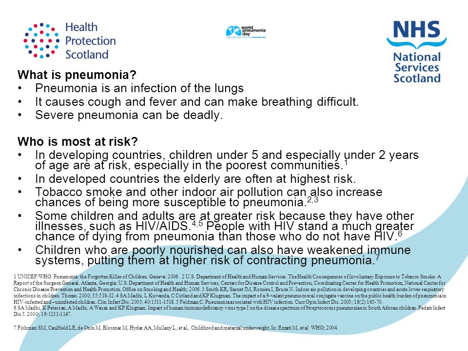 What is pneumonia.