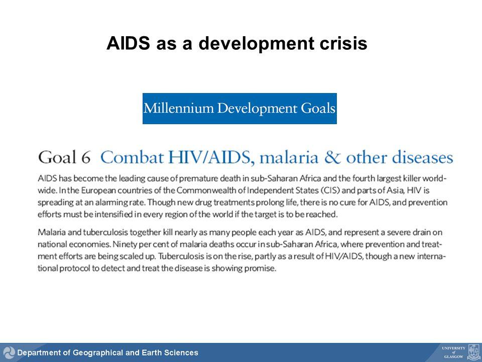 AIDS as a development crisis