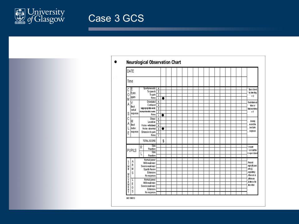 Case 3 GCS