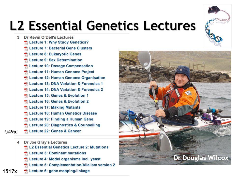 L2 Essential Genetics Lectures 549x 1517x Dr Douglas Wilcox