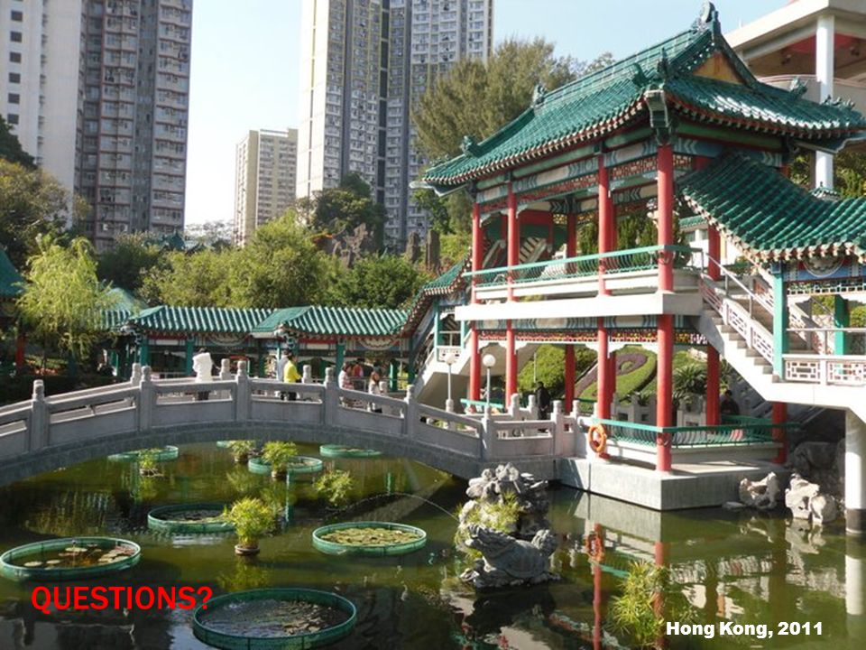 QUESTIONS Hong Kong, 2011