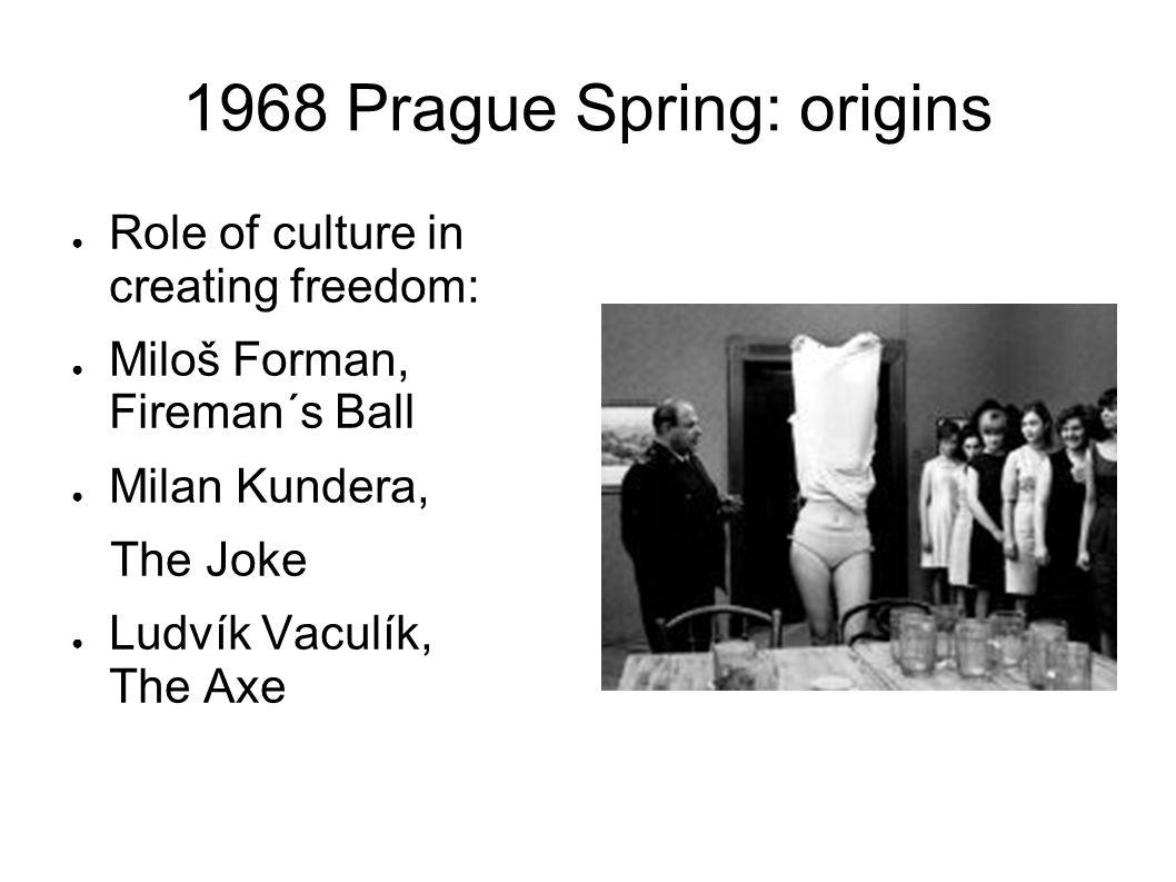 1968 Prague Spring: Origins Czechoslovak Radio, Jiří Dienstbier Sláva Volný Věra Šťovíčková Karel Kyncl