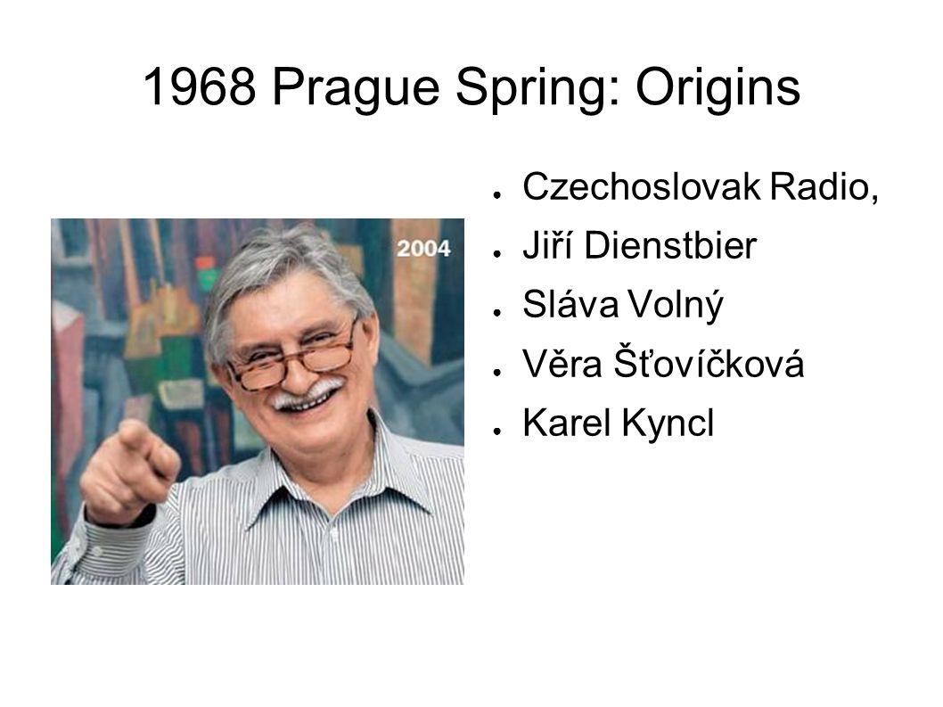 1968 Prague Spring: Preparation Czechoslovakia from 1963 onwards: Need for economic reform – Ota Šik Need to rehabilitate the unjustly persecuted (slow)
