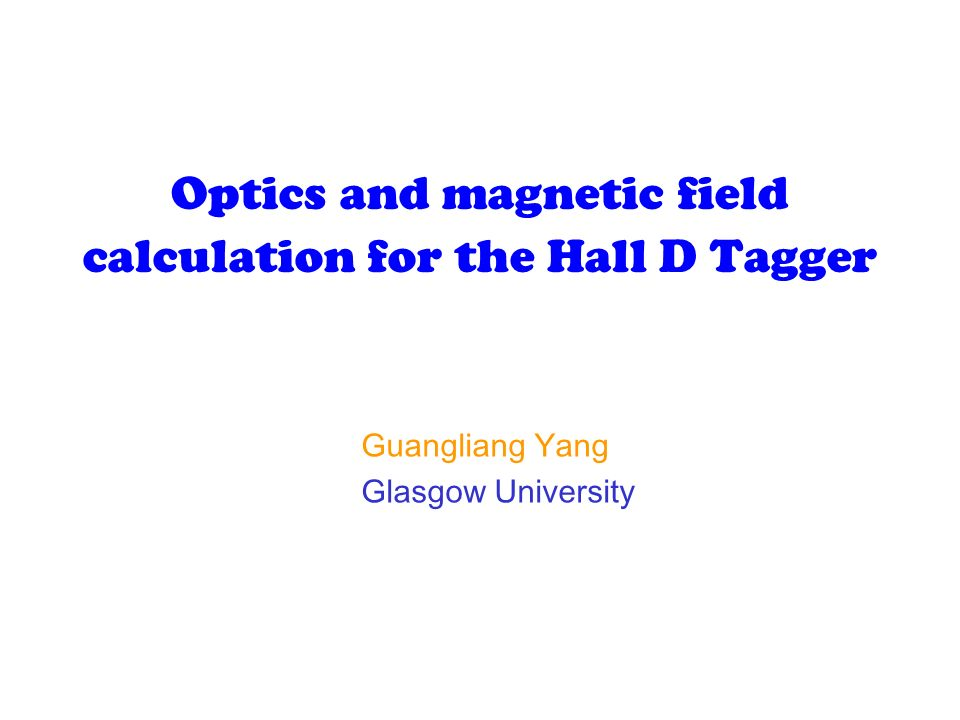 Effects of the second magnet positioning error on the tagger optical properties.