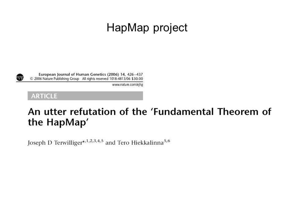 HapMap project