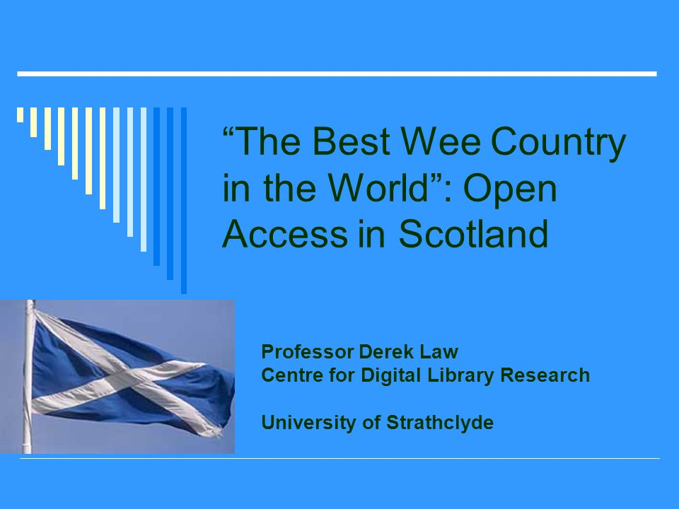 Open Access – The Story since 11 th October 2004 Almost all 20 HE Institutions have signed up.